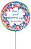 personalized lollipops for memorial day